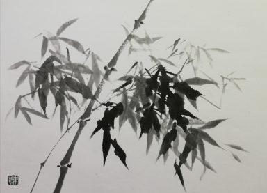 和に親しむ「水墨画体験」