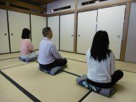 【講座中止】和に親しむ~坐禅体験~(7/13更新)